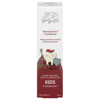GREEN BEAVER-Green Beaver - Kids Toothpaste - Strawberry 100g