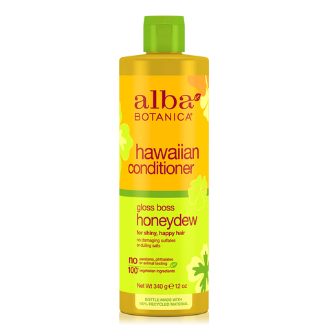 Alba Botanica Hawaiian Conditioner Gloss Boss Honeydew