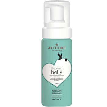 Blooming Belly - Natural Foaming Face Cleanser - Argan - Camomile Beauty - Green Natural Cruelty-free Beauty Shop