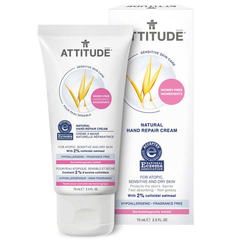 Attitude Natural Hand Repair Cream