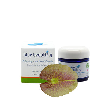 Blue Beautifly Balancing Mud Mask Powder