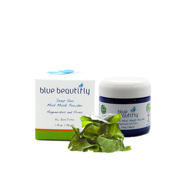 Blue Beautifly Deep Sea Mud Mask Powder