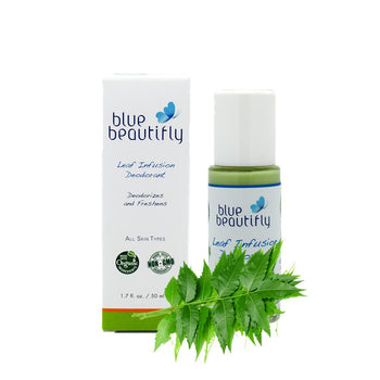Blue Beautifly Leaf Infusion Deodorant