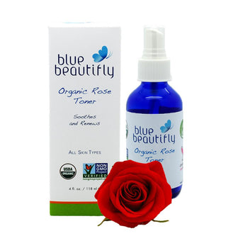 Blue Beautifly Organic Rose Toner