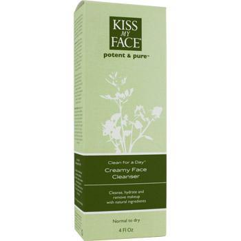 Kiss My Face Clean for a Day - Creamy Face Cleanser