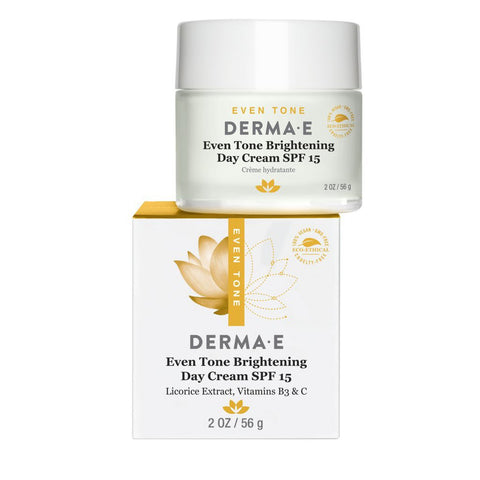 Derma E Evenly Radiant Brightening Day Cream SPF15