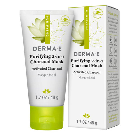 Derma E Purifying 2-in-1 Charcoal Mask
