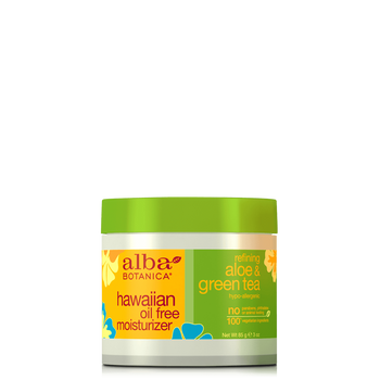 Alba Botanica Hawaiian Aloe-Green Tea Oil Free Moisturizer
