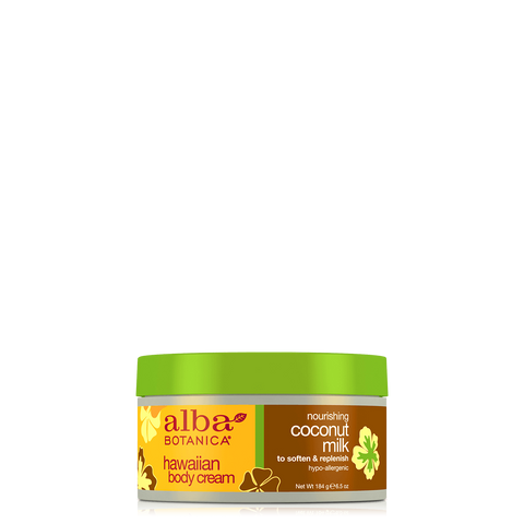 Alba Botanica Hawaiian Body Cream Coconut Milk