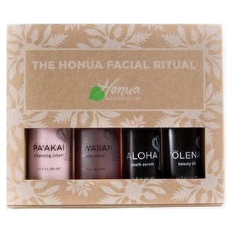 4-step radiant ritual face set