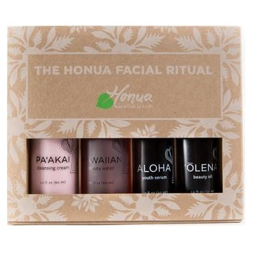 4-step radiant ritual face set - Camomile Beauty - Green Natural Cruelty-free Beauty Shop