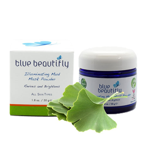 Blue Beautifly Illuminating Mud Mask Powder
