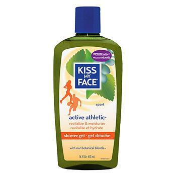 Kiss My Face Athletic Shower Gel