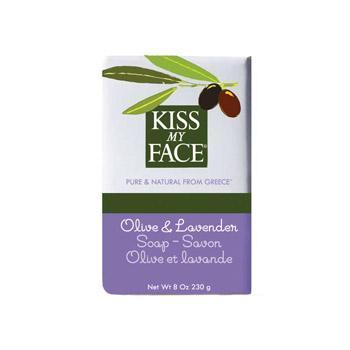 Kiss My Face Olive Lavender Bar Soap