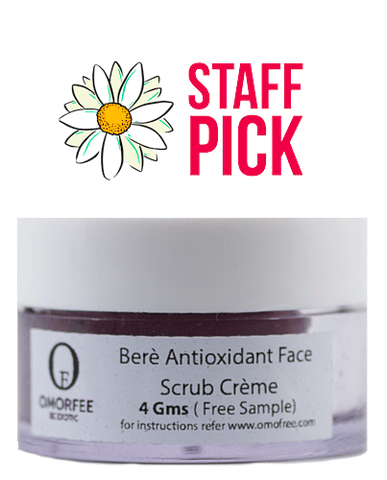 Berè Antioxidant Face Scrub Crème - Camomile Beauty - Green Natural Cruelty-free Beauty Shop