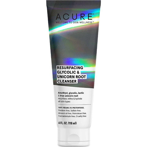 P-111720-Acure-Resurfacing Glycolic + Unicorn Cleanser