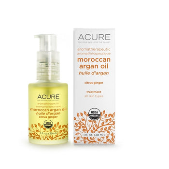 Argan Oil - Citrus Ginger - Camomile Beauty - Green Natural Cruelty-free Beauty Shop