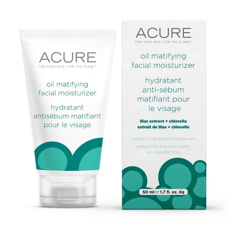 Acure - Oil Matifying Facial Moisturizer