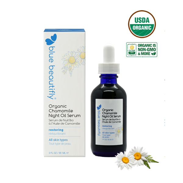 Blue Beautifly Chamomile Night Oil Serum