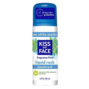 Kiss My Face Liquid Rock Unscented Roll On Deodorant