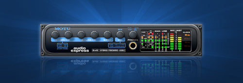 MOTU Audio Express Compact 6x6 Firewire/USB2 Audio Interface