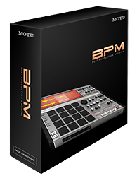 MOTU BPM 1.5 Beat Production Machine