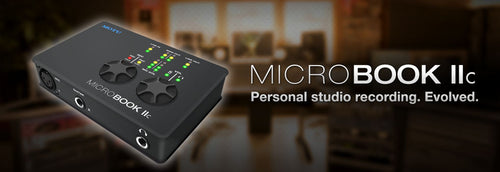 MOTU MicroBook IIc Compact 4x2 USB2 Audio Interface