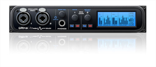 MOTU UltraLite mk4 Compact 18x22 USB2 Audio Interface