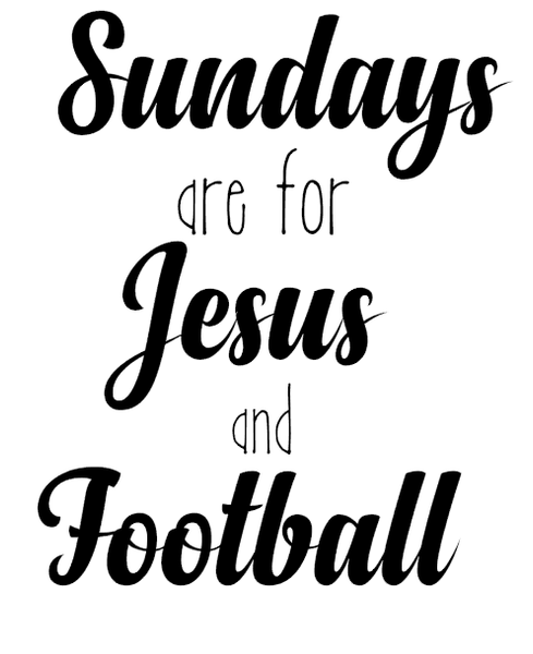 Jesus & Football Design