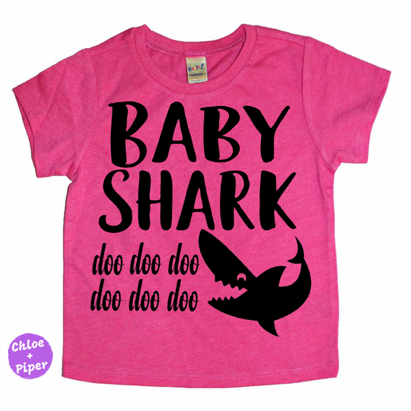 Baby Shark Tee- I Can't Toddler Today™ - Toddler Apparel
