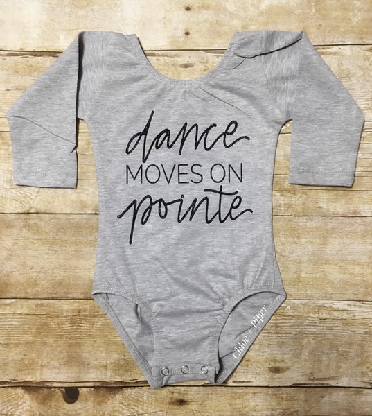 Dance Moves On Pointe Design