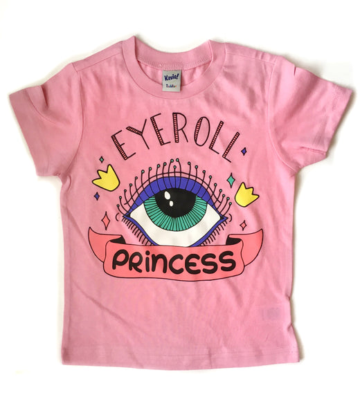 Eye roll princess tee - I Can't Toddler Today™ - Toddler Apparel
