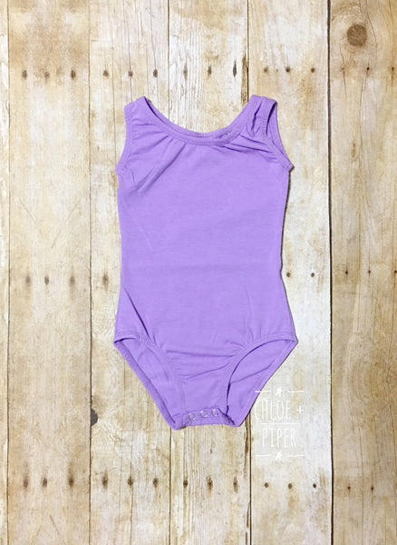 Lavender Tank Top Leotard