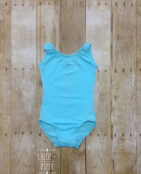 Aqua Tank Top Leotard