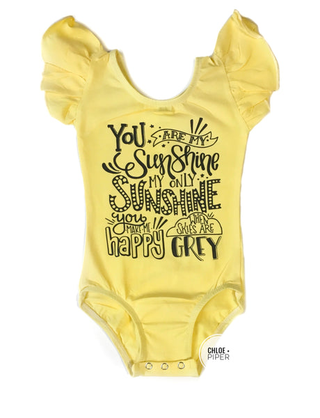 You Are My Sunshine Design