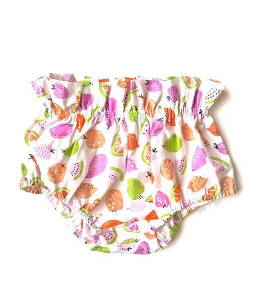 Lime Green Fruit High Waisted Bloomers