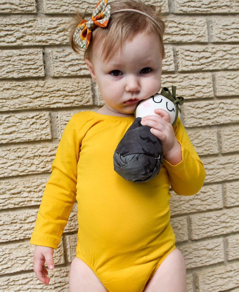 Mustard Long Sleeve Leotard