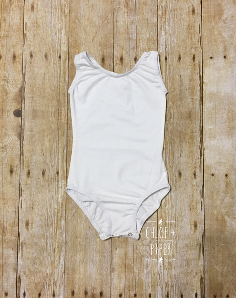 Ivory Tank Top Leotard