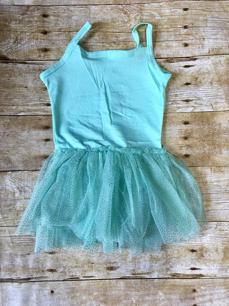 Mint w/Glitter Tulle Tutu - SIZE UP
