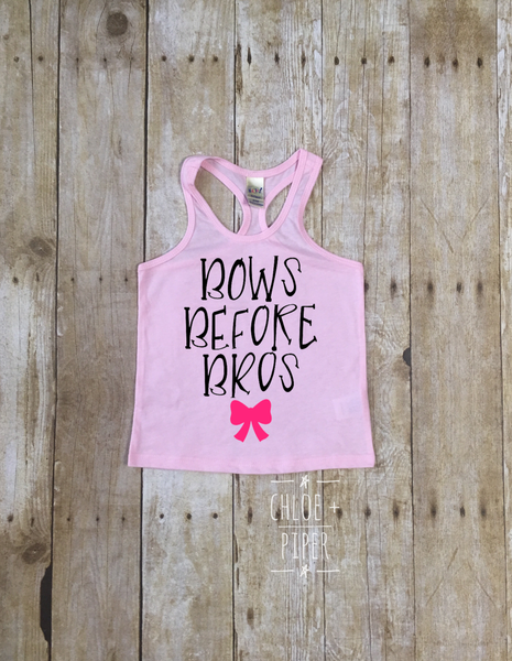 Bows Before Bros Razorback Tank