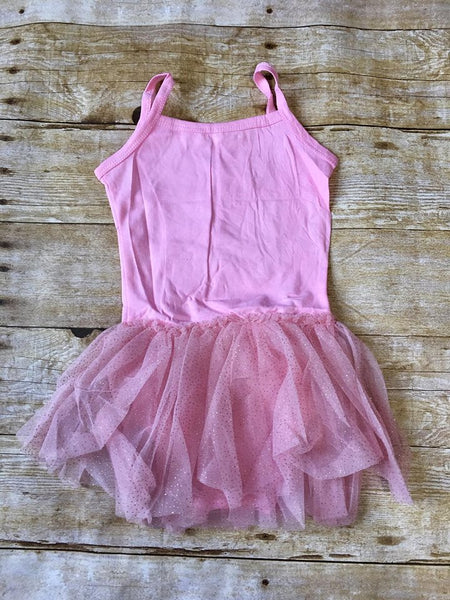 Pink w/Glitter Tulle Tutu - SIZE UP