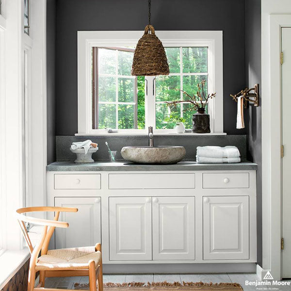 Barrydowne Paint - painting a powder room