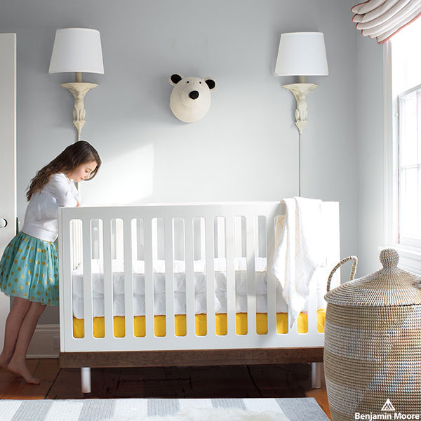 Pat-A-Cake, Pat-A-Cake, Painter's Can: Choosing Colours for the Nursery