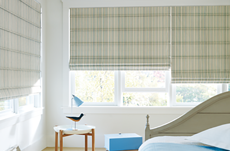 Hunter Douglas Window Treatment  design studio bedroom wake up with sunrise