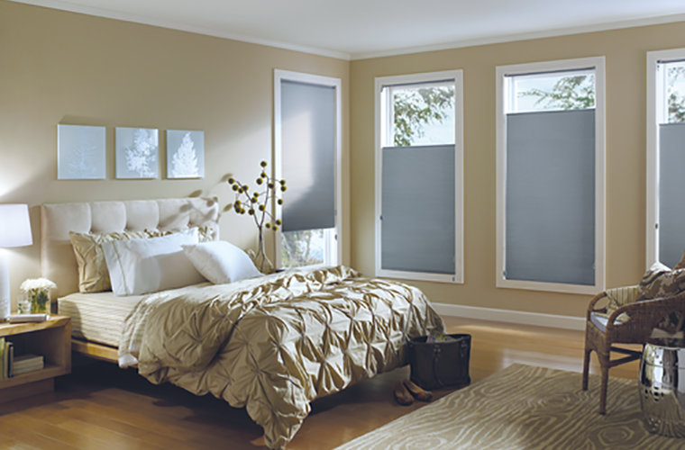 Hunter Douglas Window Treatment Applause Bedroom