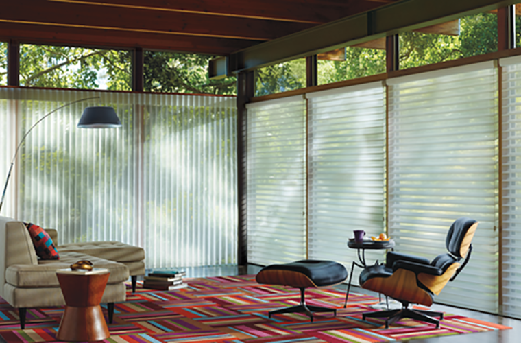Hunter Douglas Silhouette Window Treatment horizontal and vertical