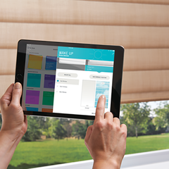Hunter Douglas Powerview App available at Gleco Paint in PA