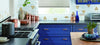 Brightly colour Kitchen Cabinets