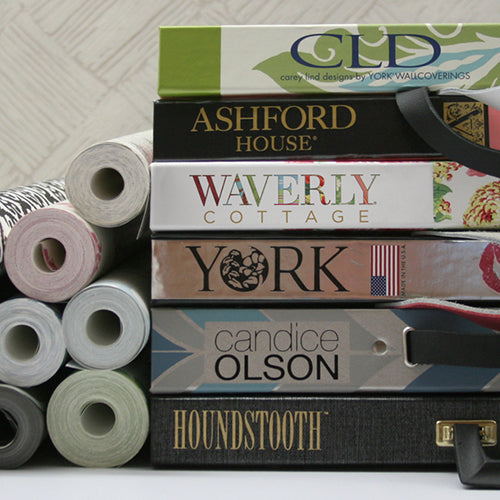 York wall coverings available from Barrydowne Paint, Sudbury, ON.