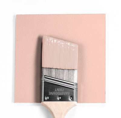Wet and dry colour sample of Benjamin Moore 051, Precocious.